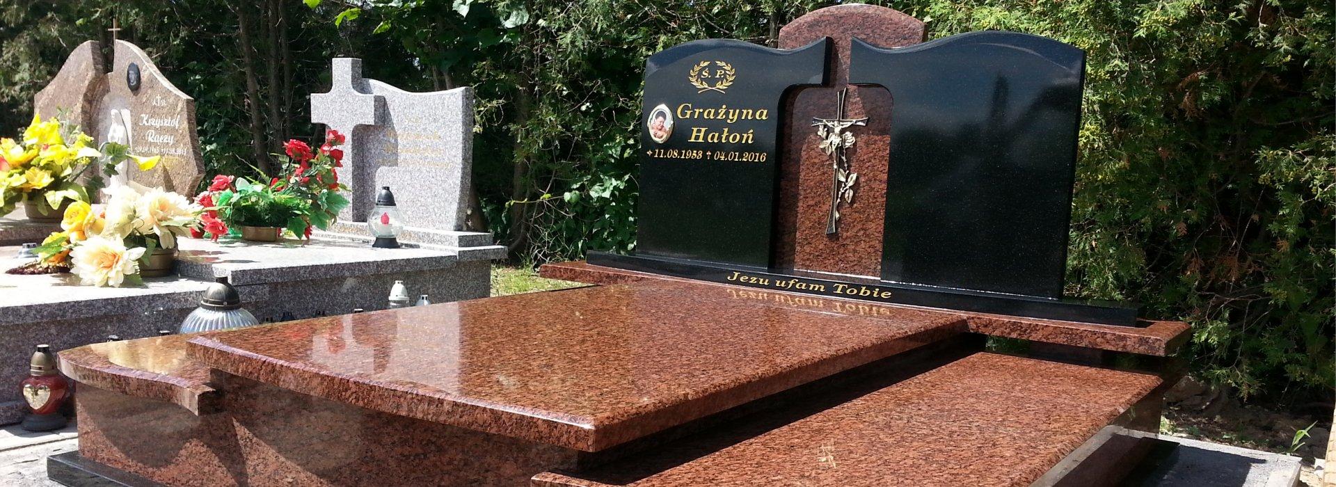 Nagrobki i grobowce 2 - Zakład Kamieniarski Orkus