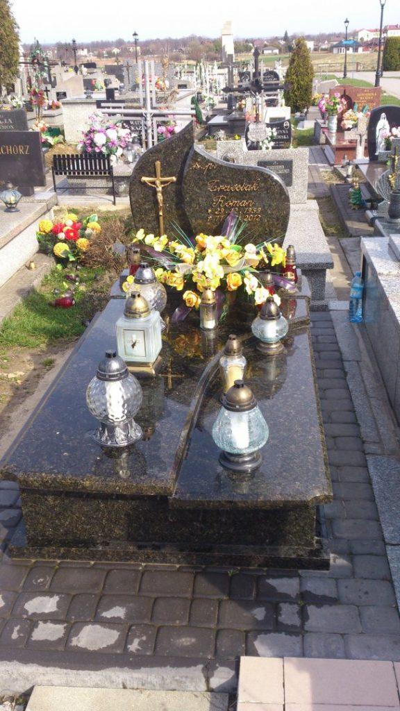 Nowoczesne nagrobki małe 28 - Zakład pogrzebowy Orkus Rzeszów
